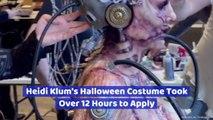 Heidi Klum's 2019 Halloween Costume