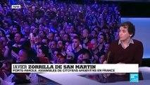 """Javier Zorrilla de San Martin sur France 24: """"Le résultat a contesté le mandat de Mauricio Macri"""""""