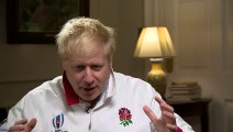 PM delivers message of support to England rugby team