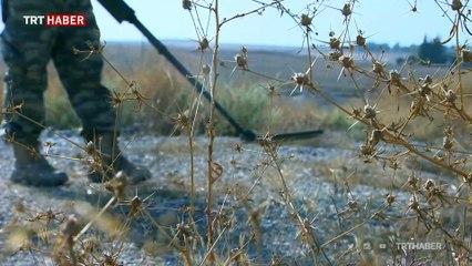 Tel Abyad'da PKK/YPG'nin tuzakladığı patlayıcılar bir bir imha ediliyor