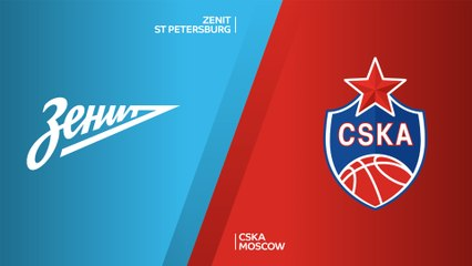 EuroLeague 2019-20 Highlights Regular Season Round 6 video: Zenit 70-87 CSKA
