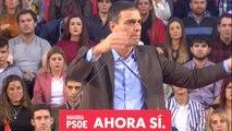 """Sánchez crítica el """"nivel"""" de sus adversarios políticos"""