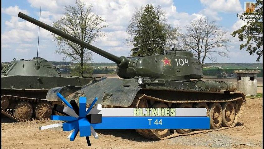 Blindés-66-T44-T54-T55