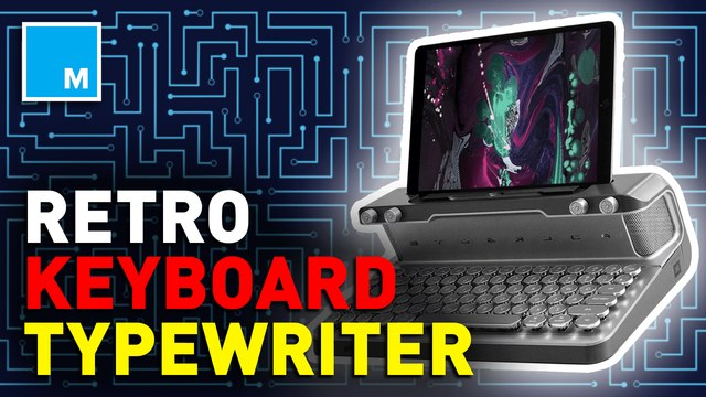 This keyboard is futuristic and vintage —Future Blink