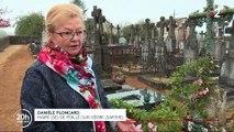 En manque de place dans les cimetières, des communes se lancent dans la difficile recherche des familles