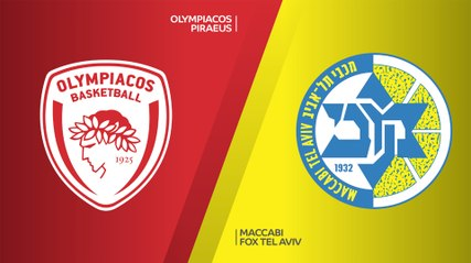 EuroLeague 2019-20 Highlights Regular Season Round 6 video: Olympiacos 65-90 Maccabi