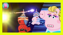 Peppa Pig Crying Dinosaur George Superheroes Finger Family Nursery Rhymes Song Episode Parody