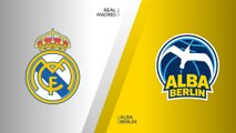 Real Madrid - ALBA Berlin Highlights | Turkish Airlines EuroLeague, RS Round 6