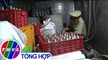 Thu giữ 900 lít bia hơi không rõ nguồn gốc tại Bình Phước