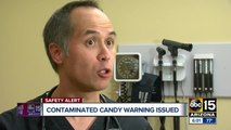 Health officials discuss latest contaminated candy warnings
