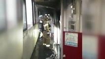 전남 여수시 안산동 아파트 6층에서 화재 / YTN