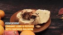 Soup of the Week: Leek, potato & smoked salmon