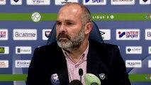 Conférence de presse de Pascal Dupraz après SMCaen / US Orléans