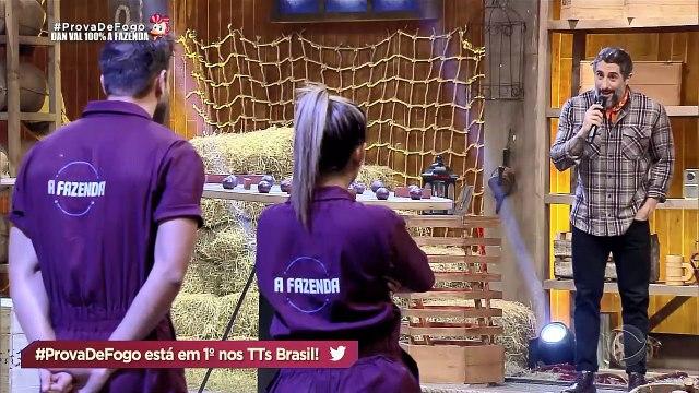 A FAZENDA 11 - PROVA DE FOGO - EPISÓDIO 46 - PARTE FINAL