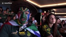 South African fans predict Rugby World Cup victory