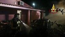 Quartu Sant'Elena (CA) - Incendio autovettura (02.11.19)