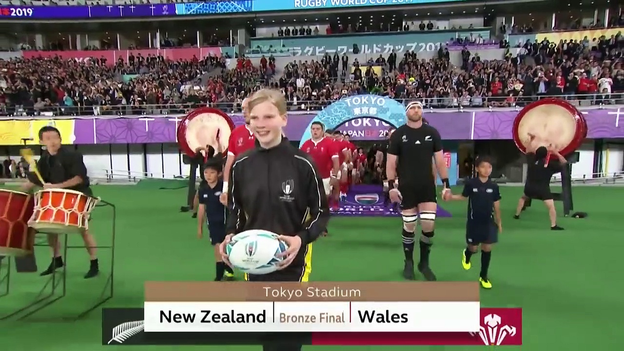 Highlights New Zealand v Wales – Rugby World Cup 2019