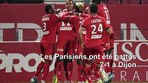 L1: le PSG battu 2-1 à Dijon