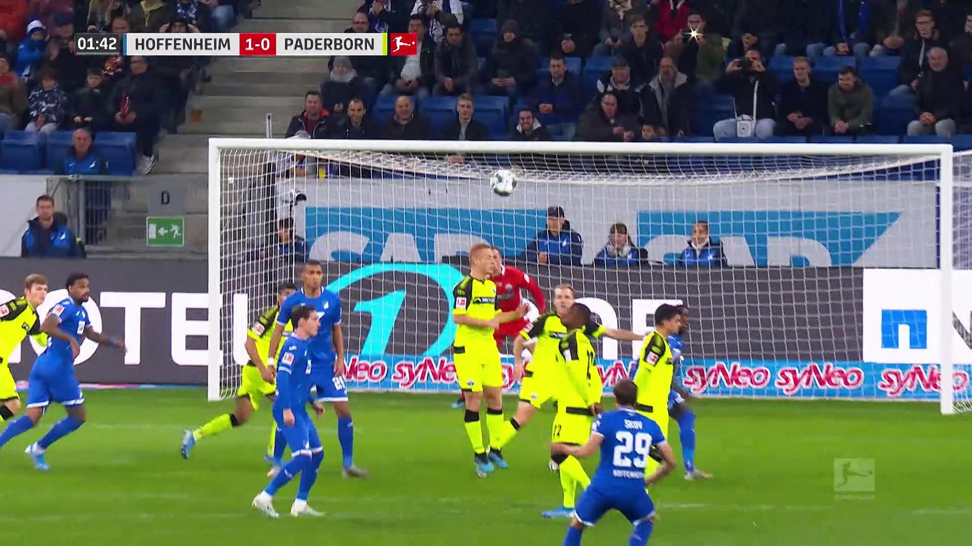 10. Hafta / Hoffenheim - Paderborn: 3-0 (Özet)