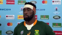 A proud Siya Kolisi discusses leading his side to the Rugby World Cup