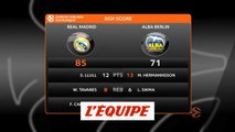 Le Real Madrid s'impose face à l'Alba Berlin - Basket - Euroligue (H)