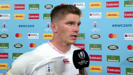 Owen Farrell Interview after the Rugby World Cup 2019 Final
