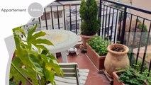Roquebrune cap Martin en étage élevé, 3 pièces