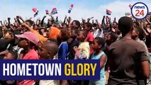 WATCH | Siya Kolisi's hometown reacts to world cup win