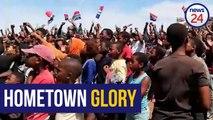 WATCH | Siya Kolisi's hometown reacts to world cup win