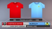 Match Preview: Sheffield United vs Burnley on 02/11/2019