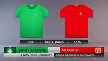 Match Preview: Saint-Etienne vs Monaco on 03/11/2019
