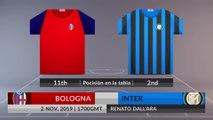 Match Preview: Bologna vs Inter on 02/11/2019