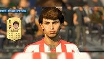 Joao Félix, Courtois, Ziyech ; FIFA 20 remodélise les visages de plusieurs stars