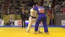 Anaïs Castiaux (Marcel Clause Quaregnon) en finale pour le bronze au National judo seniors 2019 (par Simon Barzyczak)