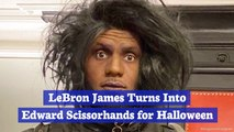 LeBron James' Halloween Costume