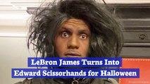 LeBron James' Halloween Costume