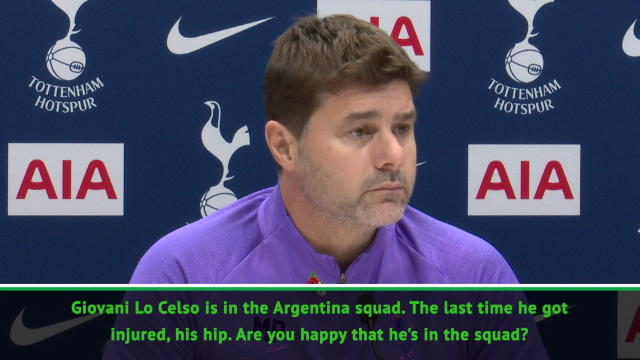 Pochettino unhappy with Lo Celso Argentina call-up