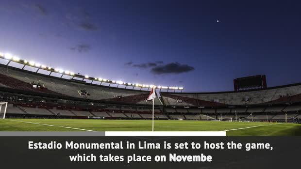 Libertadores final moved to Peru