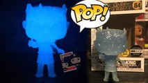 Game Of Thrones Night King Glow In The Dark HBO Exclusive Vinyl Figure Unboxing Review Glow Test
