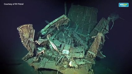Suspected World War II US destroyer found in Philippine Sea floor