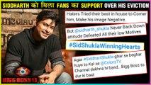 Siddharth Shukla Winning Hearts As Fans Support HIm Over Mahira Sharma | Bigg Boss 13