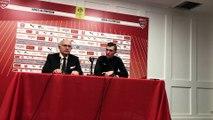 """Football - Ligue 1 - Nîmes - Rennes reporté : """"Le terrain était gorgé d'eau"""" (Willy Delajod)"""