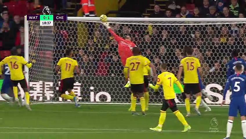 11. Hafta / Watford - Chelsea: 1-2 (Özet)