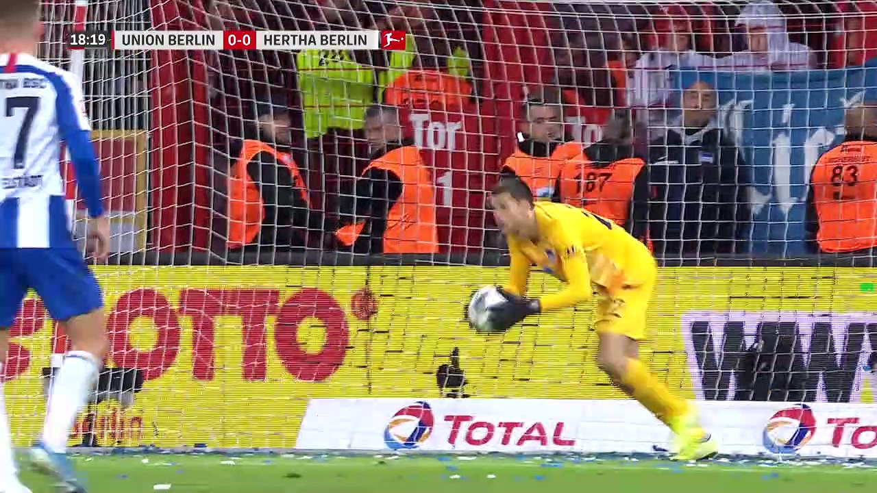 10. Hafta / Union Berlin - Hertha Berlin: 1-0 (Özet)
