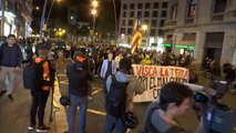El colectivo CDR marcha en Barcelona contra el Govern y pide la dimisión de Buch