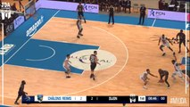 Mike Young Points in Châlons Reims vs. Dijon