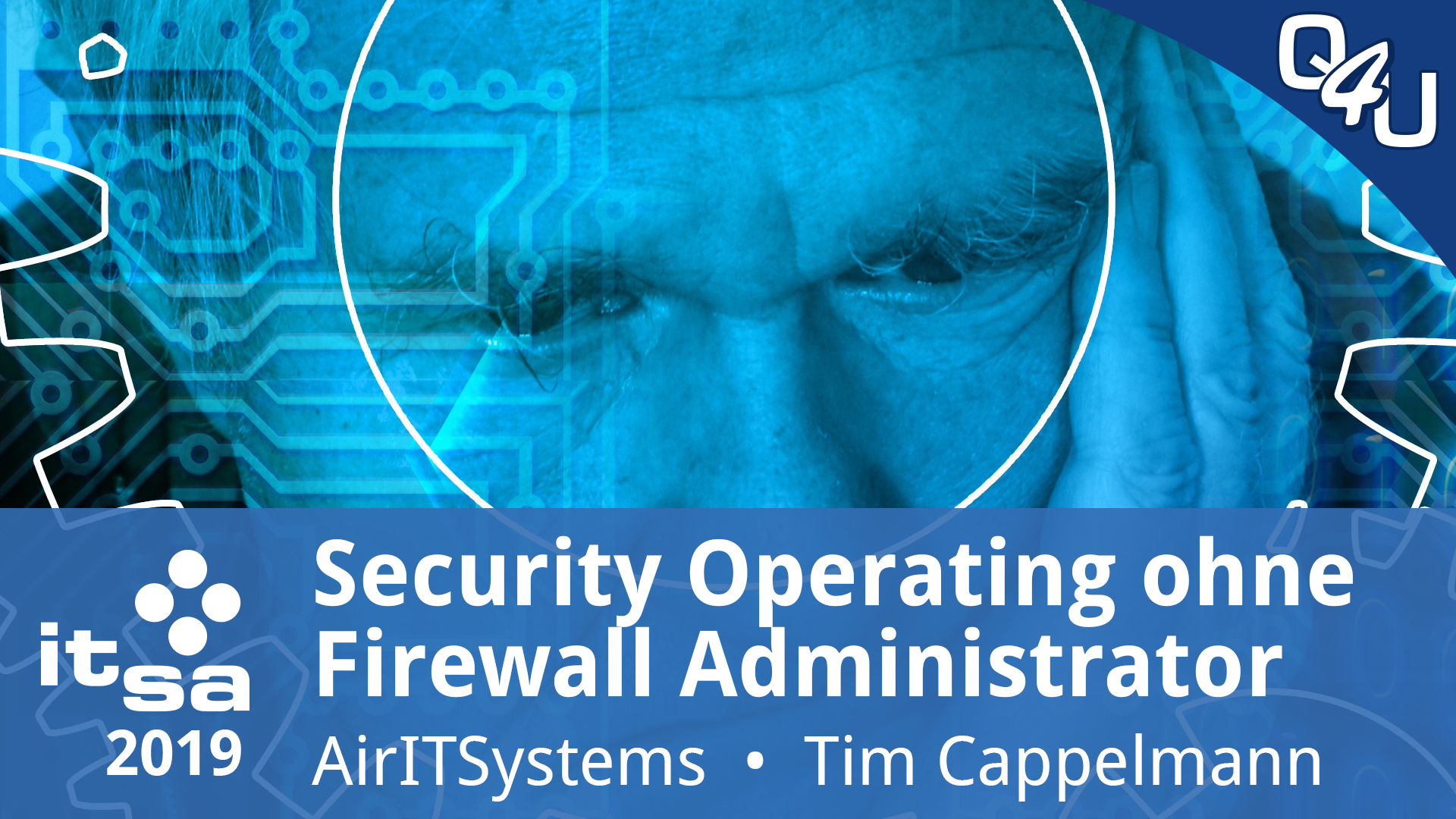 it-sa 2019: Security Operating ist Attack & Defense ohne Firewall Admin – AirITSystems | QSO4YOU.com