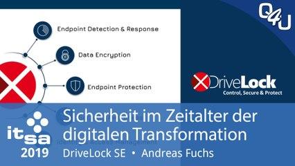 it-sa 2019: Sicherheit im Zeitalter der digitalen Transformation - DriveLock | QSO4YOU.com