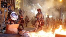 Hong Kong police fire tear gas to break up anti-government rally