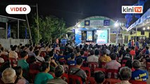 Tanjung Piai by-election: Around 300 show up for MCA's first ceramah